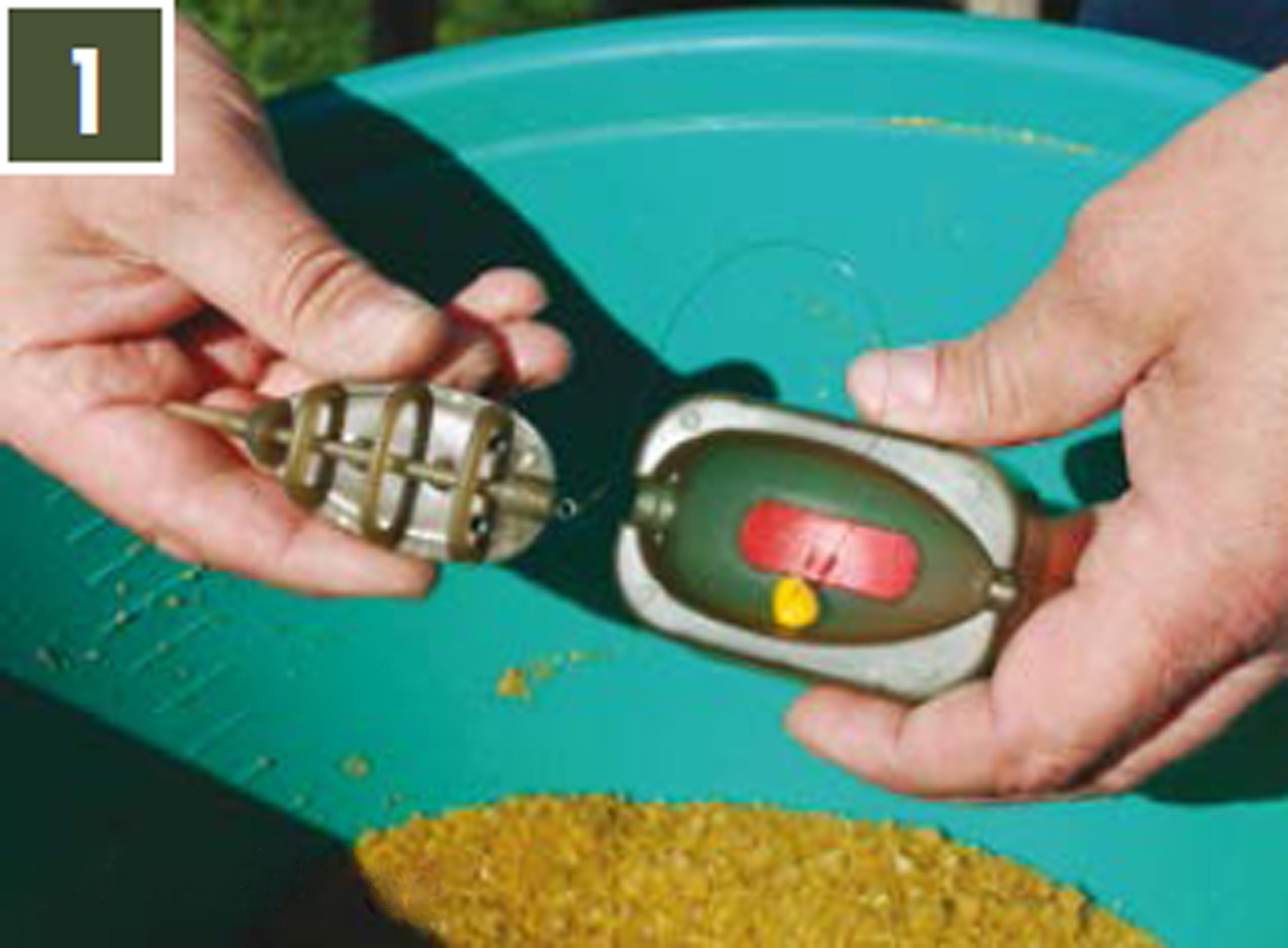Behr Fishing Method Feeder Set 50-60g Futterkörbe Ausdrückform
