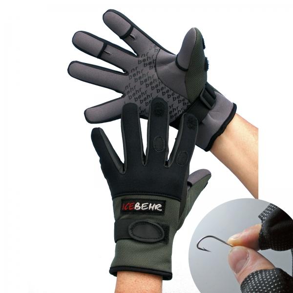 Anglerhandschuhe Angelhandschuhe Behr Neopren Handschuhe Sibirian-Pride