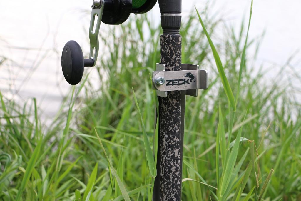Zeck Fishing Rod Stand Inox Rutenständer für Wallerrute